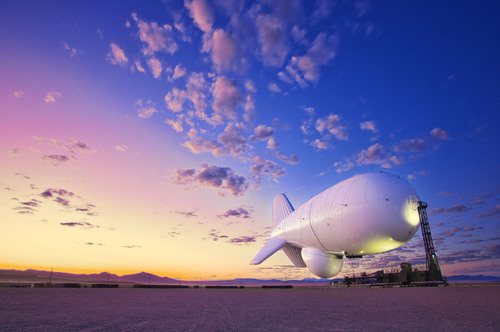 Raytheon JLENS -- A JLENS system, referred to as an orbit, consists of two tethered, 74-meter aerostats ...