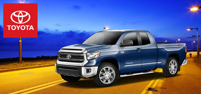 The 2014 Toyota Tundra offers the ideal amount of strength for active individuals and growing families.  (PRNewsFoto/Hesser Toyota)