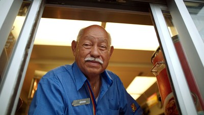 Arturo has been serving Church's guests with a smile for 54 years.