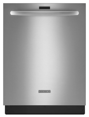 The latest dishwasher from KitchenAid combines the best cleaning and drying performance ever offered by the brand with the industry's lowest water usage, as published on EnergyStar.gov.  (PRNewsFoto/KitchenAid)