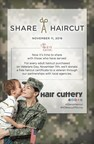 Hair Cuttery Salutes Servicemen and Women with Veterans Day Share-A-Haircut Program