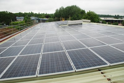 Midlands Motorhome Showroom Fuels Business with 200 Panel Solar Energy Investment and Biomass Boiler System