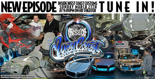 Renowned TV Show Builders West Coast Customs Team Up With Monster Cable in Their Latest Episode of