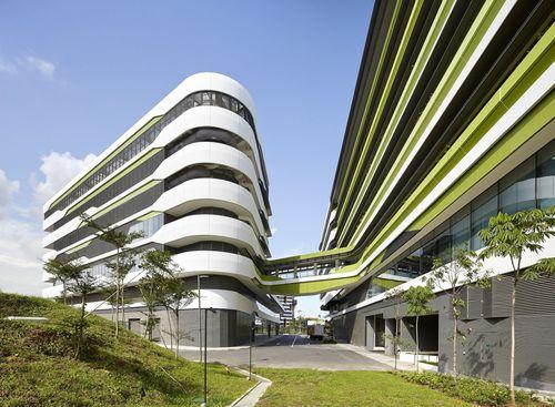 The new SUTD demonstrates Ben van Berkel / UNStudioâeuro(TM)s approach to New Campus designPhotos: (c) Hufton+Crow (PRNewsFoto/UNStudio)