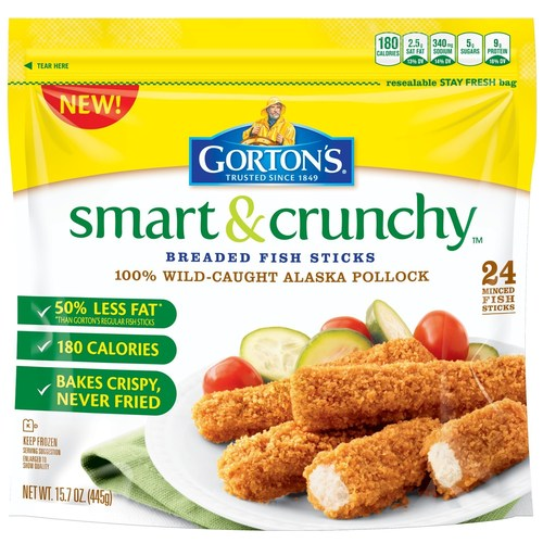 Gorton s seafood to launch national smart crunchy tour for Gortons fish sticks