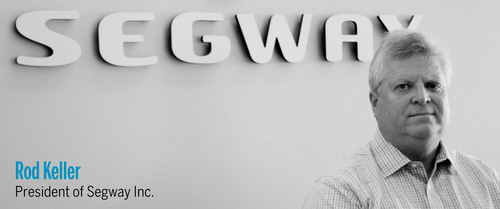 Rod Keller, President of Segway Inc.  (PRNewsFoto/Segway Inc.)