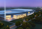 Rendering of new 300,000 square foot facility