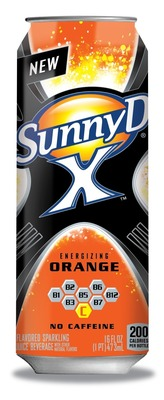 Sunny D X Energizing Juice Drink (PRNewsFoto/Sunny Delight Beverages Co.)