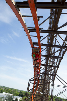 World's Tallest Steepest Fastest Wooden Roller Coaster only at Six Flags (PRNewsFoto/Six Flags Great America)