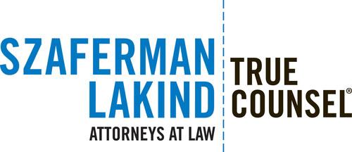 Szaferman Lakind Logo. (PRNewsFoto/Szaferman, Lakind, Blumstein & Blader, PC) (PRNewsFoto/SZAFERMAN, LAKIND, BLUMSTEIN ...)