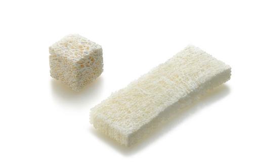 Zimmer Spine Puros Demineralized Bone Matrix Block and Strip.  (PRNewsFoto/Zimmer Holdings, Inc.)