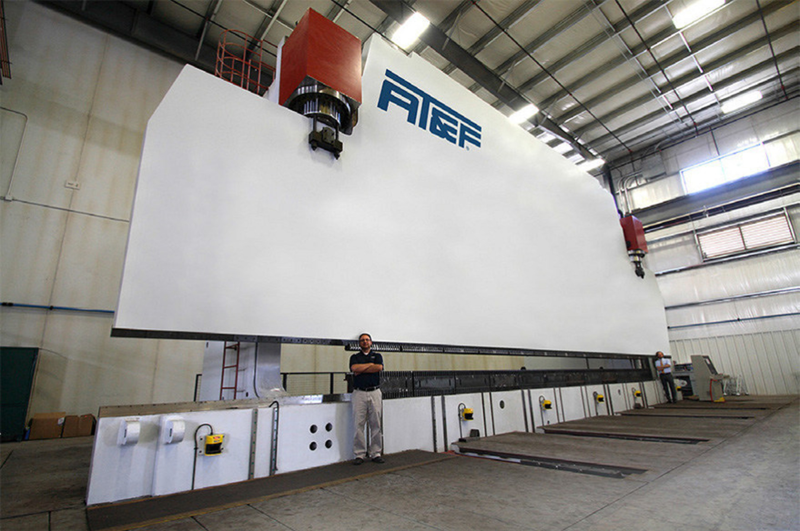 AT&F's state-of-the-art 60-foot press brake