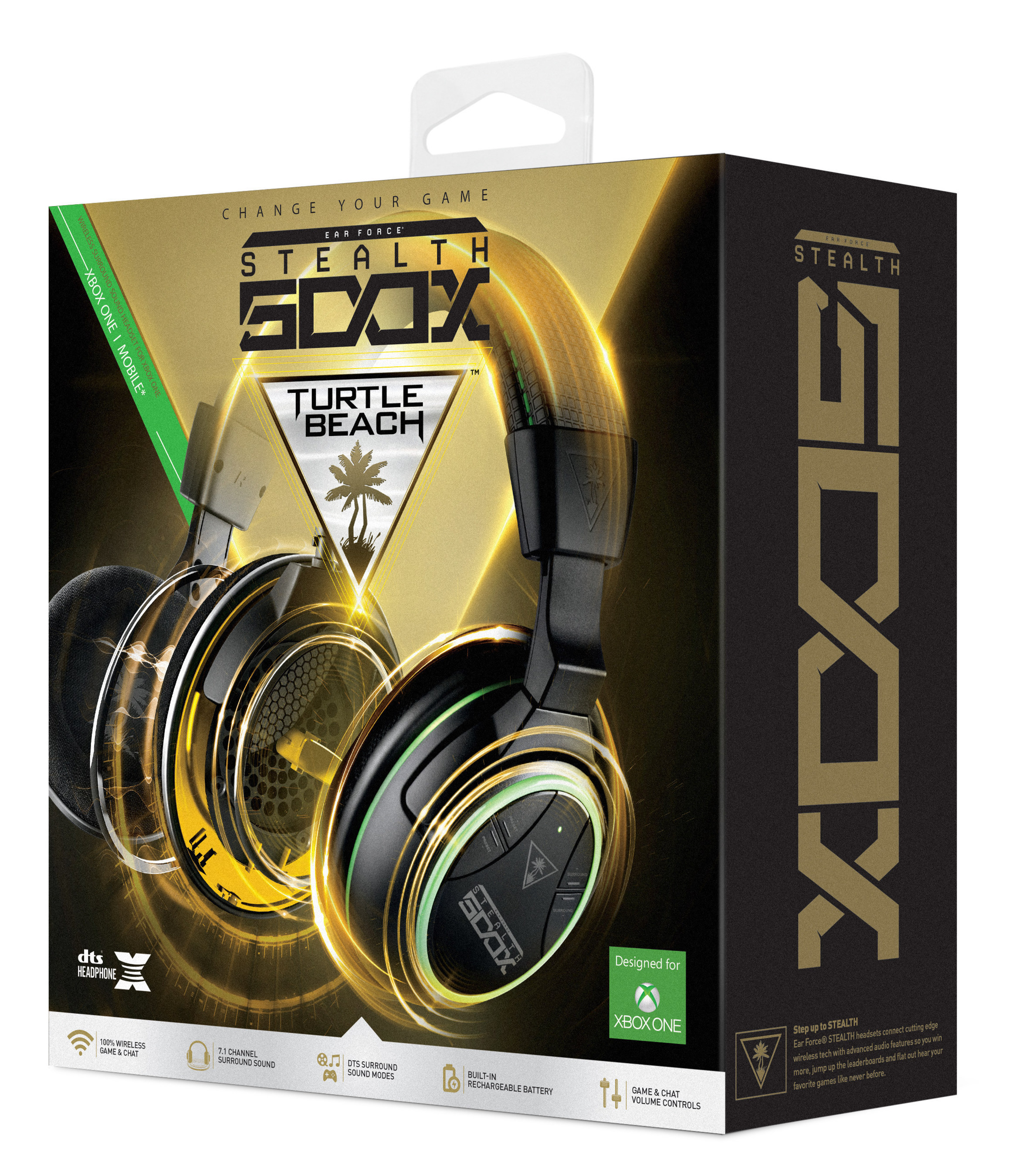 Turtle Beach Stealth 500X Fully Wireless Gaming Headset for