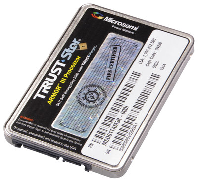 Microsemi introduces its highest security and capacity serial advanced technology attachment (SATA)  solid state drive (SSD) for defense, intelligence, unmanned aerial vehicle (UAV)  and other defense-related network area storage (NAS) applications.