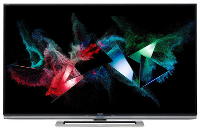 """THE SHARP AQUOS(R) 4K ULTRA HD LED TV NOW AVAILABLE - The World's First THX(R) 4K Certified TV & Only 70"""" Class Ultra HD TV for $7,499.99. (PRNewsFoto/Sharp Electronics) (PRNewsFoto/SHARP ELECTRONICS)"""