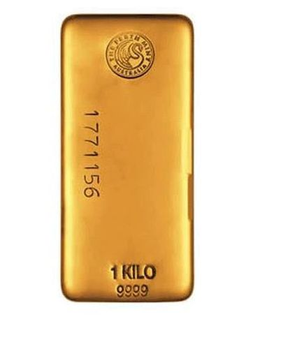 """Gold bar (1 kilo) âeuro"""" London Bullion Market Association (LBMA) gold bar which is 99.99% pure and refined by the Perth Mint. GoldCore have relationships with all major gold refineries and government mints and deliver and store gold bars on behalf of clients in Europe, the Americas and Asia. Clients have direct ownership of gold bars in fully allocated, fully segregated accounts. Gold bar holdings audited daily by GoldCore and annually by internationally recognised auditors. Transfer holdings in and out of storage and across jurisdictions. Unrivalled transparency and security âeuro"""" view holdings in person and take delivery of bullion in format of choice. (PRNewsFoto/GoldCore)"""