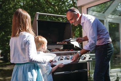 According to a recent study from gourmet grill maker Napoleon, the meal most preferred by Dad on Father's Day is grilling with his family. And not only does Dad want to enjoy a grilled meal on Father's Day - he wants to prepare it himself.