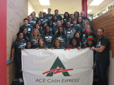 ACE Cash Express Supports JA Dallas With Volunteers, $25k