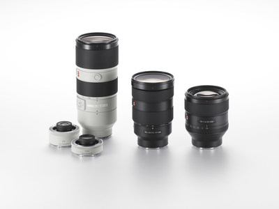 Sony G Master™ Interchangeable Lenses
