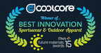 "Coolcore Wins Award for ""Best Innovation - Sports & Outdoor Apparel"""