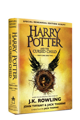 Scholastic announced that it has sold more than 2 million copies of Harry Potter and the Cursed Child Parts One and Two script book in North America in the first two days of sales.