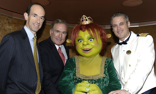 Royal Caribbean International today announced Princess Fiona as the godmother of Allure of the Seas during the ...