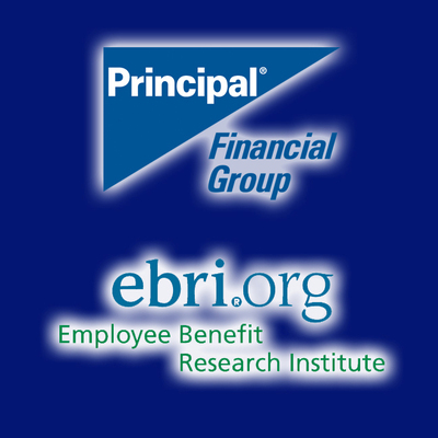 Survey says retirement confidence rebounds. More at principal.com and ebri.org