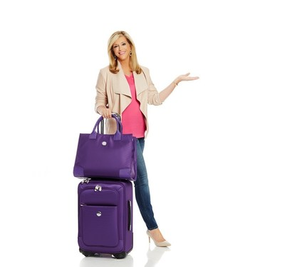 Joy Mangano revolutionizes travel industry with TuffTech luggage collection.