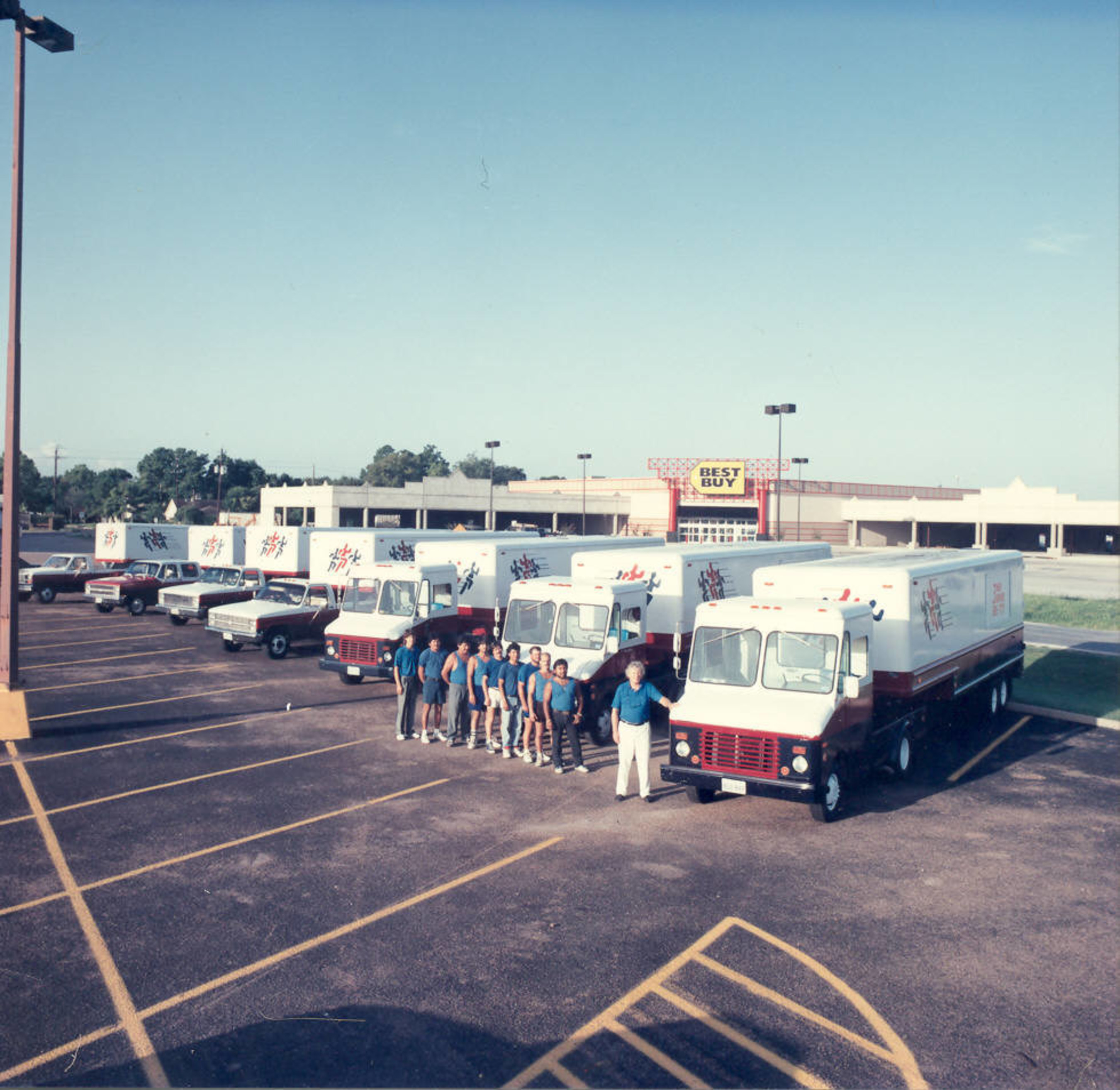 What was supposed to be a passing venture, began to blossom into a multi-truck moving company with a glowing reputation. John's dreams of business success were coming true.