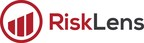 RiskLens logo. RiskLens helps organizations manage information risk from the business perspective.