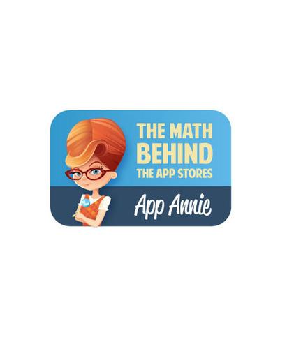 THE MATH BEHIND THE APP STORES.  (PRNewsFoto/App Annie)
