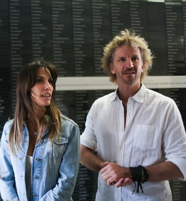 Pop and TV Star Facundo Arana and his wife are Ready to deliver the message of friendship to the world at the Friends of Zion museum