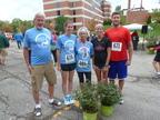 Paul Bosela, Sheila Gambaccini, Angela Bosela, Denise Young, and Paul Bosela Jr. (PRNewsFoto/Debbie's Dream Foundation)