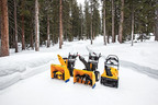 Only Cub Cadet offers snow throwers with single, two and three-stage power, including the 1(TM), 2(TM) and impressive new 3(TM) so you can choose the level of snow-throwing power to match your winter weather needs.  (PRNewsFoto/Cub Cadet)
