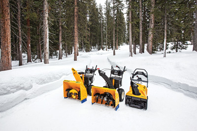 Only Cub Cadet offers snow throwers with single, two and three-stage power, including the 1(TM), 2(TM) and impressive new 3(TM) so you can choose the level of snow-throwing power to match your winter weather needs.