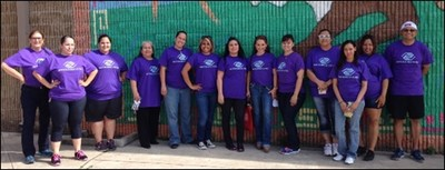 ACE employees spent an afternoon volunteering at their local chapter of the Boys and Girls Club. (PRNewsFoto/ACE Cash Express, Inc.)