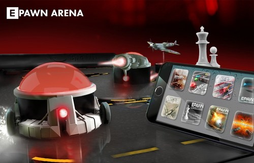 ePawn Arena, the very first connected board for gamers (PRNewsFoto/ePawn) (PRNewsFoto/ePawn)