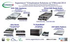 Supermicro® Certified Compute, Storage and Networking Solutions @ VMworld 2014 (PRNewsFoto/Super Micro Computer, Inc.)