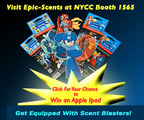 Epic-Scents Showcases New Megas Song and Sweepstakes at NY Comic Con, Booth 1565