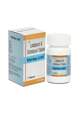 Mylan launches generic Harvoni® (Ledipasvir/Sofosbuvir) under the brand name MyHep LVIR™ in India