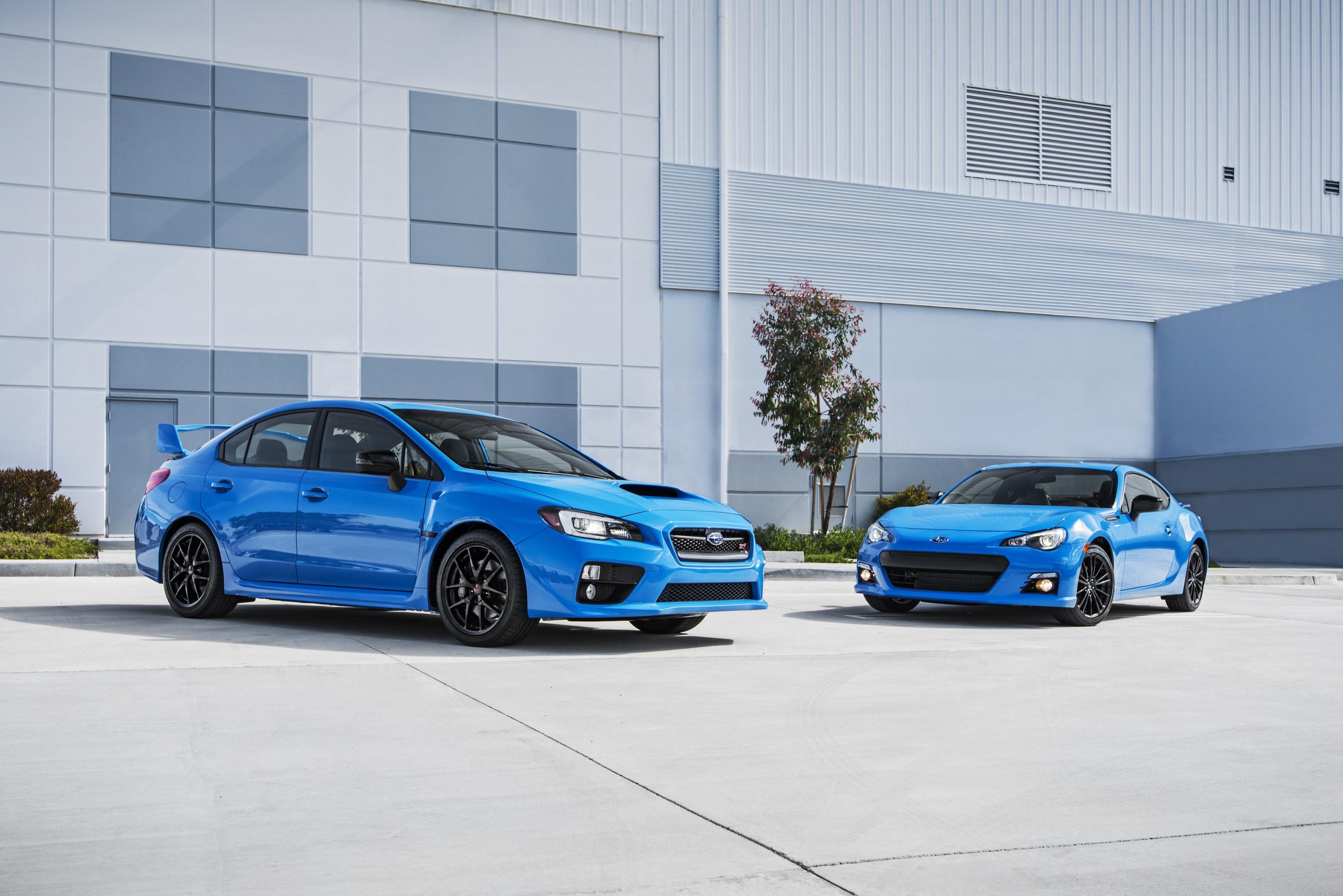2016 Subaru Series.HyperBlue models