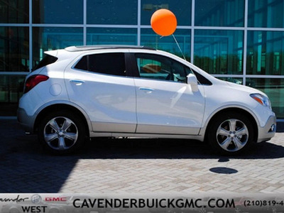 The 2013 Buick Encore is available now at Cavender Buick GMC West.  (PRNewsFoto/Cavender Buick GMC West)