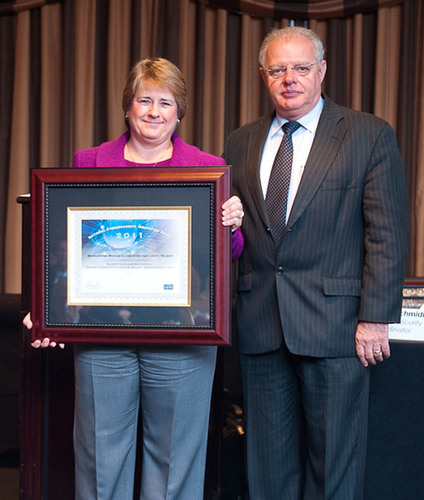 Michele D. Guel, Distinguished IT Engineer and Senior Security Architect at Cisco, receives a National ...