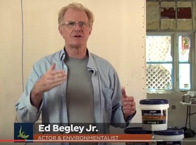 Actor/Environmentalist Ed Begley, Jr. uses Bostik Materials on his LEED Platinum home