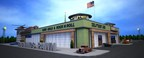Pictured is Brass Junkie Co.'s rendering of Badlands Pawn, Gold and Jewelry, scheduled to open in Sioux Falls, South Dakota on Thanksgiving Day.