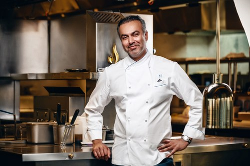 Celebrity Chef Mohammad Islam's showcase combines spectacular views with contemporary chic and Art Deco arrangement (PRNewsFoto/Atelier M) (PRNewsFoto/Atelier M)