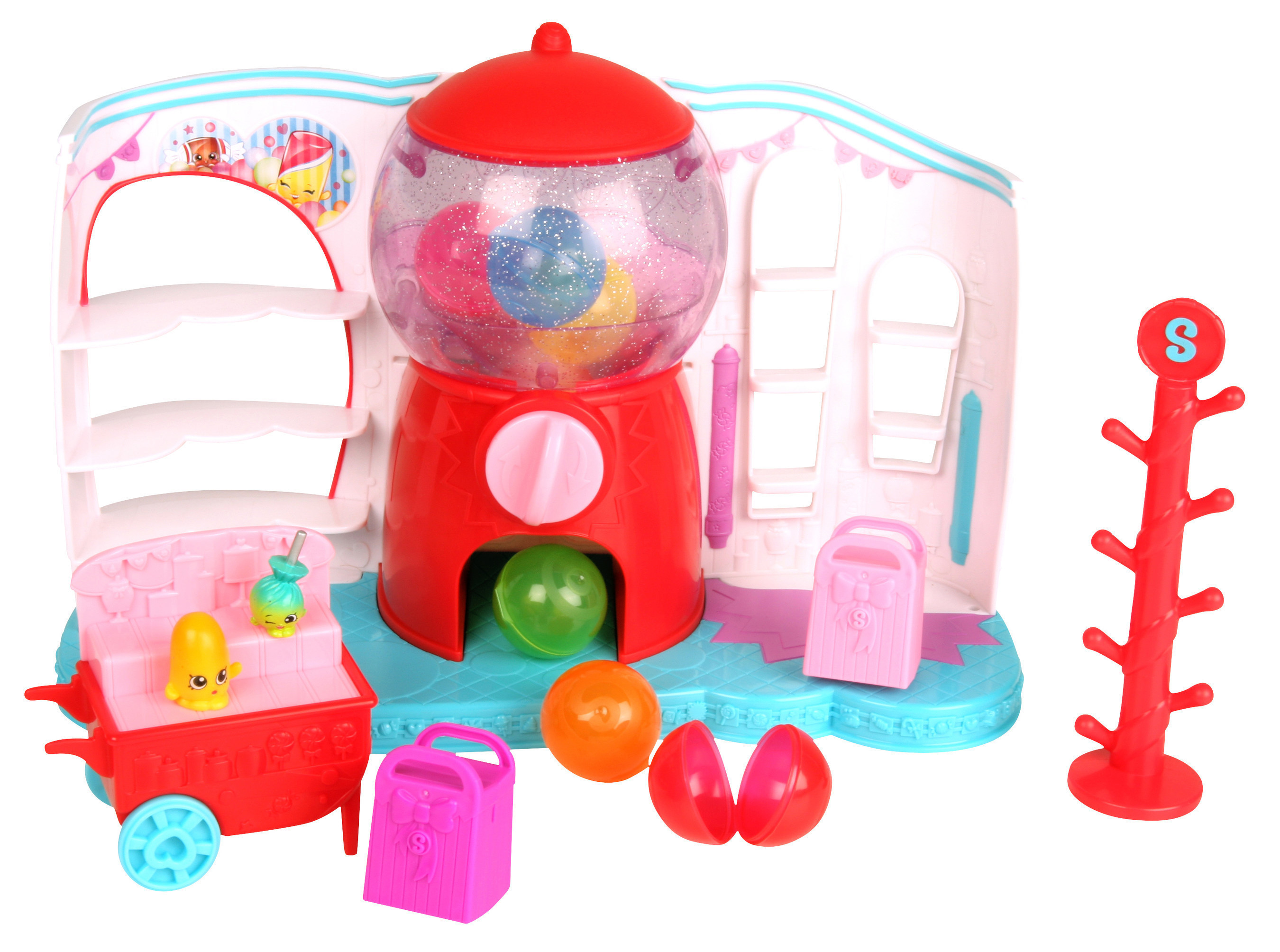Shopkins, a fan-favorite collectible line from Moose Toys, becomes a little sweeter this spring with the new Shopkins Sweet Spot playset.