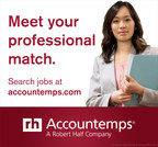 Accountemps Reveals Five Surprising Facts About the Accounting Profession