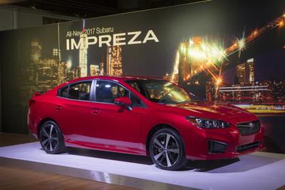 All-new 2017 Subaru Impreza Sport Sedan