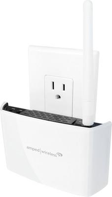 REC15A High Power Compact AC Wi-Fi Range Extender.  (PRNewsFoto/Amped Wireless)